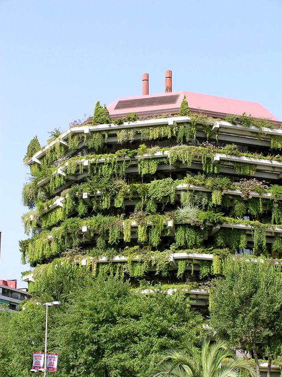 Vertikal odling in Barcelona
