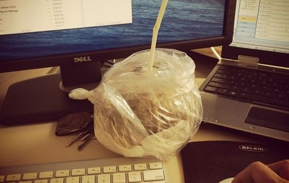Coconut water.. Mmmm #coconutwater