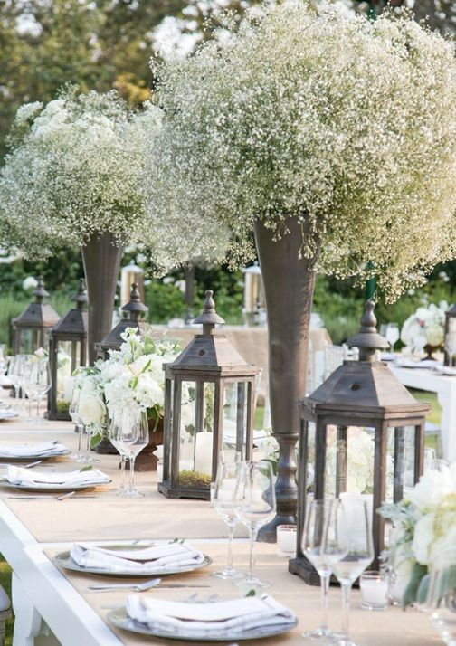 100 best wedding decorations images by novehome on pinterest 109 affordable and romantic outdoor wedding centerpieces ideas vis wed junglespirit Images