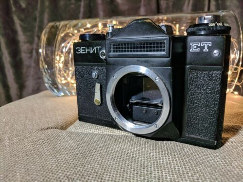 Details About Rare Vintage Camera Of The Soviet Union Zenit Et