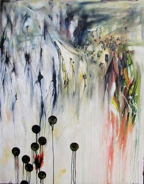 "Saatchi Online Artist Gary Winterford; Painting, ""Vesijaarvi lost"" #art"