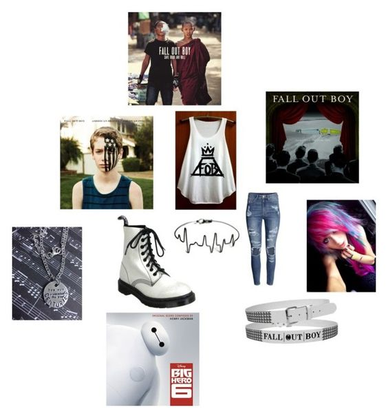 """""""Fall Out Boy"""" by rocker-chick-88 ❤ liked on Polyvore"""