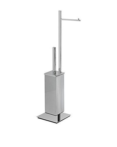 CAPANNOLI Toilettendiener Nook Nk176-35 chrom/stahl