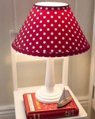 Red Plum Hood Lampshade $96