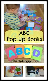 Craftulate: ABC Pop-Up Books