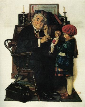 March 29, 1929 Issue of The Saturday Evening Post    Doctor and Doll,