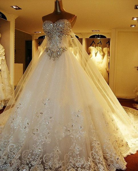 Luxury Real Image High Quality Ball Gown Wedding Dresses A