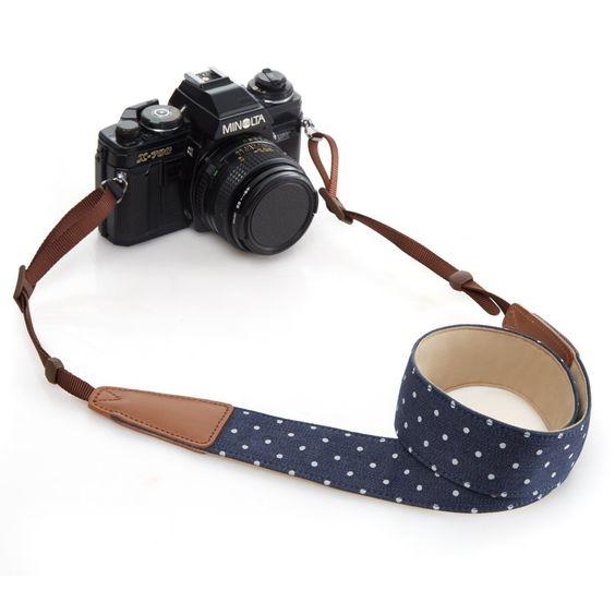 Amazon.com : BestTrendy Universal Camera Strap, Blue : Camera & Photo: