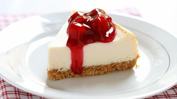The Perfect No Sugar Cheesecake.
