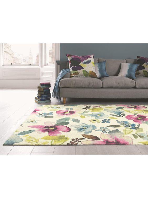 Teppich Christine von Bluebellgray  Shabby Chic Teppiche