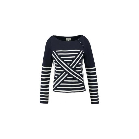 Tommy Hilfiger Gigi Sweater ❤ liked on Polyvore featuring tops and sweaters