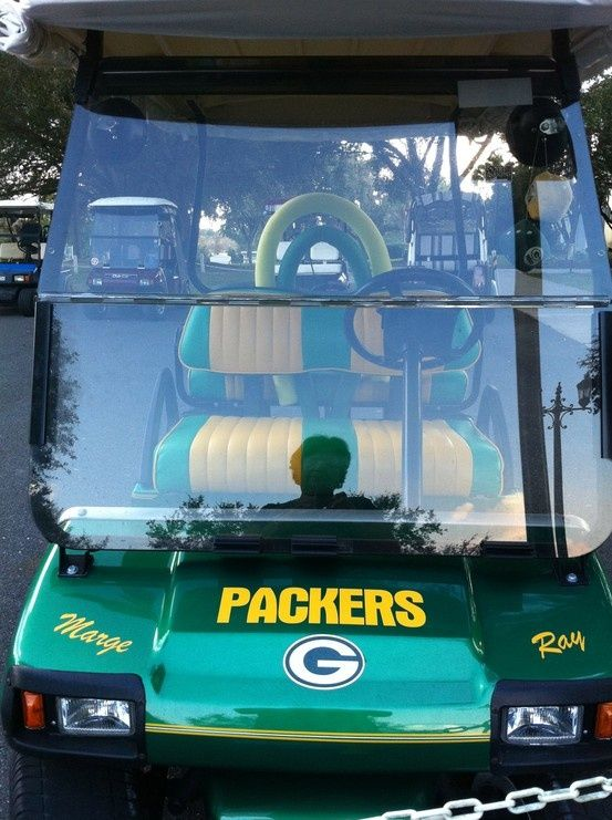 Packers Golf Cart