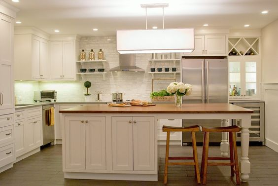 Island Dreams Kitchen - traditional - kitchen - boston - Kristen Schraven: