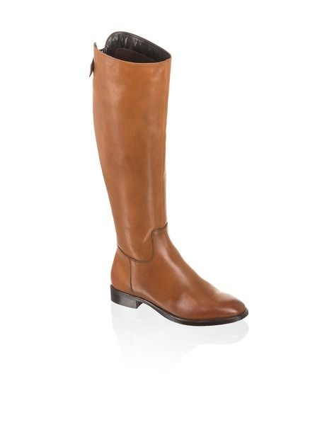 Pat Calvin Glattleder-Stiefel - braun - Gratis Versand | Schuhe | Stiefel | Online Shop | 1623713603