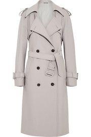 Maison Martin MargielaWool-blend trench coat