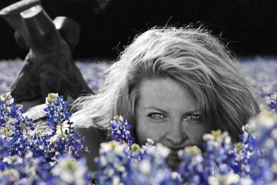 Beauty in blue.