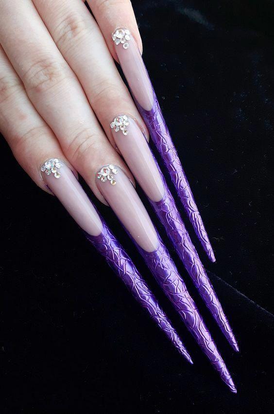 Nails Natural Nails Solid Color Nails Acrylic Nails Cute Nails Wedding Nails Sparkling Glitter Bridal Solid Color Nails Kylie Jenner Nails Natural Nails