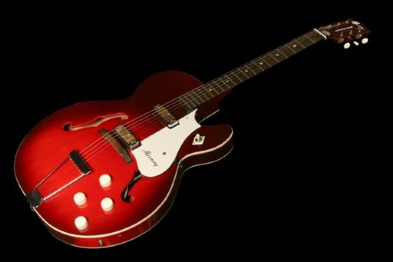 My first electric guitar was one of these - a Harmony Rocket. Sold it many decades ago.