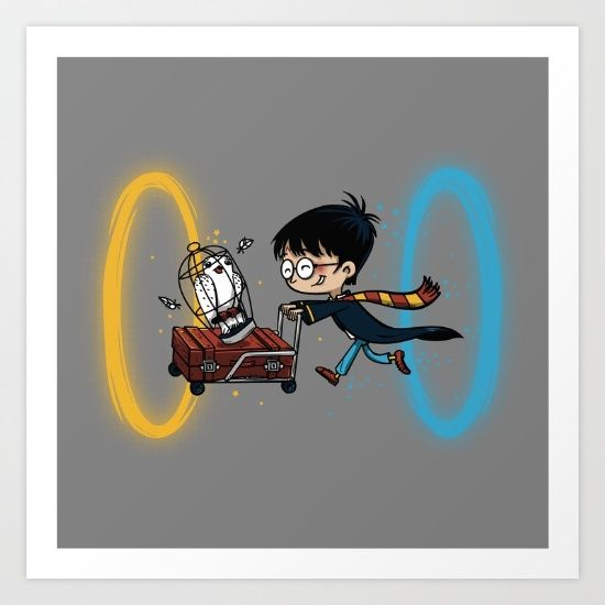 Harry Portal Art Print by Le.duc - $14.56