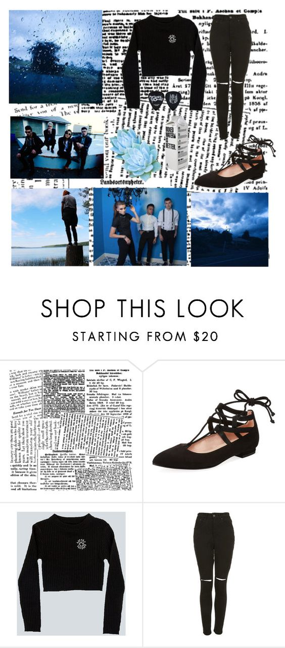 """drop dead"" by pvriscvlt ❤ liked on Polyvore featuring French Sole FS/NY and The Ragged Priest"