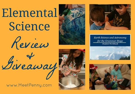 Elemental Science (Earth Science & Astronomy) curriculum is a simple option for a highly educational (and SUPER FUN) homeschool science curriculum. Fits every learning style. We love it!