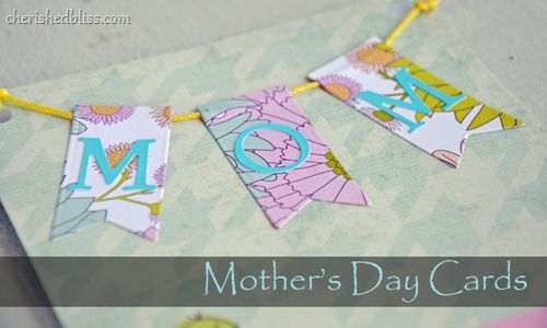 """Pennant Banner would be cute on any type of card including a """"Happy Birthday"""" handmade card."""