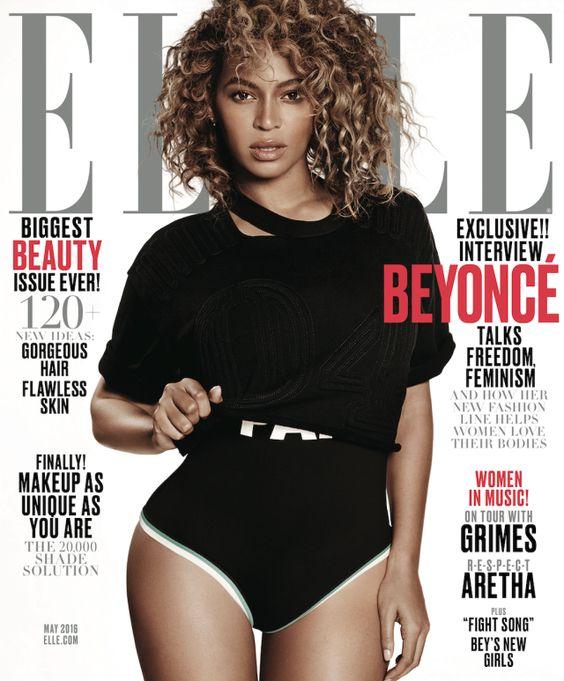 BREAKING: Beyoncé Slays on the Cover of ELLE
