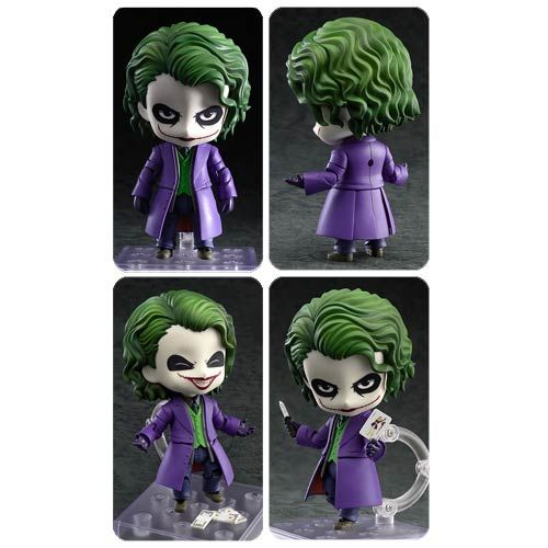 Batman Dark Knight Joker Villains Edição Nendoroid Figura - Good Smile Company - Figuras de Ação em entretenimento Planeta Terra - Batman
