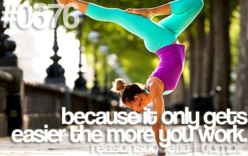 Because it only gets easier the more you work. #juliomedina #p90x #fitness #motivation #reasonstobefit #workout #shakeology