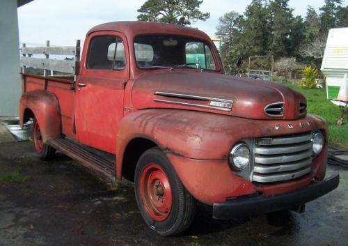 1950 Ford Pickup Truck Old 1950 S Trucks For Sale Vintage