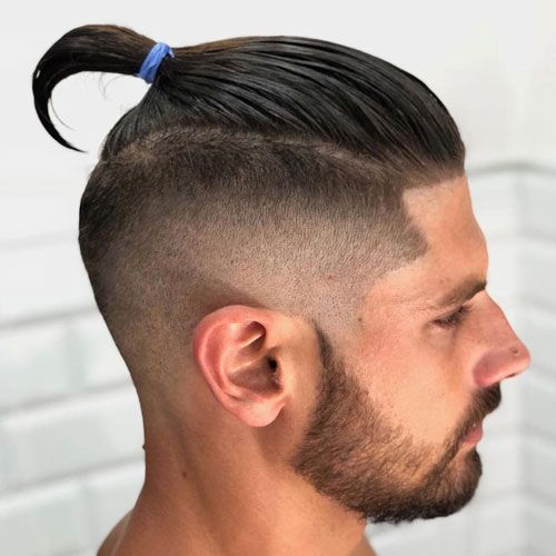 23 Best Man Bun Styles 2020 Guide High Fade Haircut Fade Haircut Styles Fade Haircut