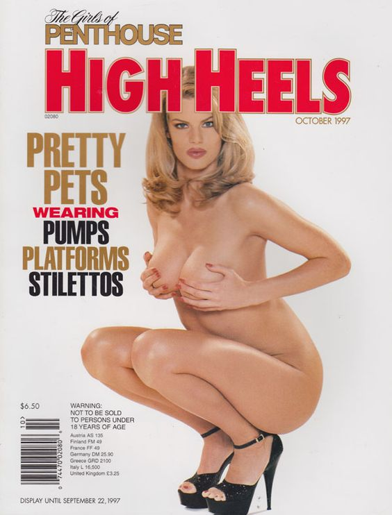 Girls Penthouse October 1997 - HIGH HEELS