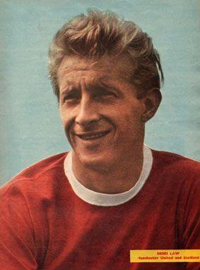Le père de Hugh Jackman ? Non Dennis Law, l'une des stars de Manchester United en 1963.