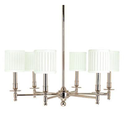 Lighting - Hudson Valley Lighting Palmer 6 Light Chandelier    #decor #homedecor #dining #diningroom #homeinterior #white
