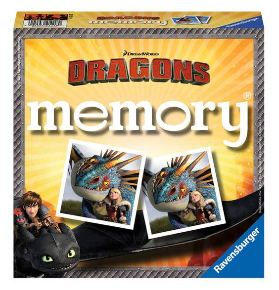Ravensburger memory Dragons