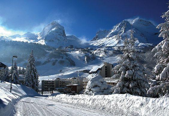 Gourette vous propose des activités sportives et une nature au top! #ski  Pyrénées