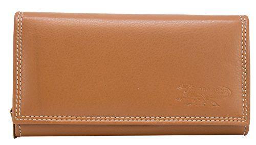 Blau Damen Geldbörse Leder Portemonnaie Geldbeutel Portmonee Börse Brieftasche