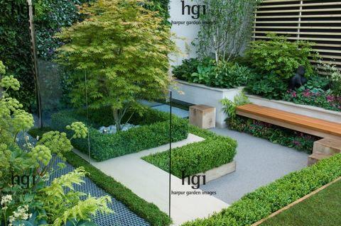 Harpur Garden Images Mh09ch40 Gold Award Sunken Garden