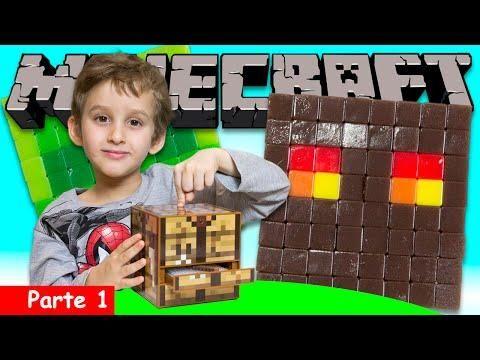 Minecraft Crafting Table Da Vida Real Parte 1 Paulinho E