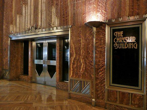 Chrysler Building Wikipedia Interior Design History Chrysler