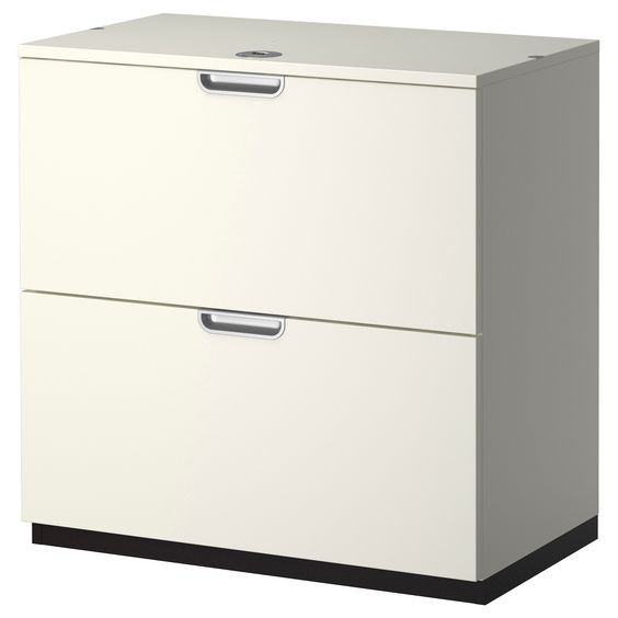 Galant drawer unit drop file storage white ikea 349 for Ikea article number