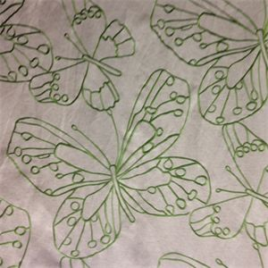 Cleo Grass Embroidered Drapery Fabric by Richloom - SW31403 - Fabric By The Yard At Discount Prices