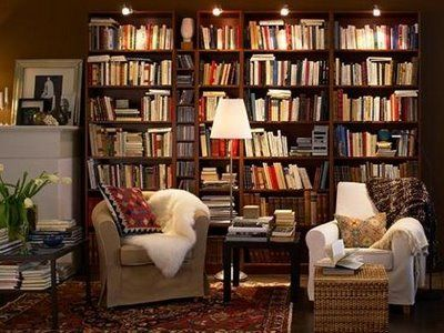 Home library (by IKEA)