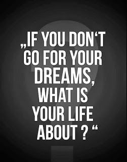 The Point Of Living Is To Live Your Dreams