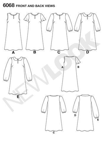 Misses' Dresses: