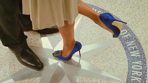 satc manolo blahnik shoes