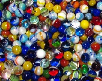 One Pound Of New Rainbow Pee Wee Mix Glass Marbles 1 2 Many Styles And Colors Great For Decorating Crafts Games And Collecting In 2019 Glass Marbles Marble Toys Marble