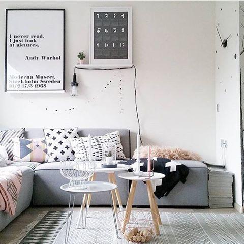 N rdicosemgrana como decorar com estilo um apartamento for Sala de estar kawaii