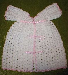 Free Crochet Preemie Baby Dress Patterns : Preemie Dress free crochet pattern Crochet Baby Preemies ...
