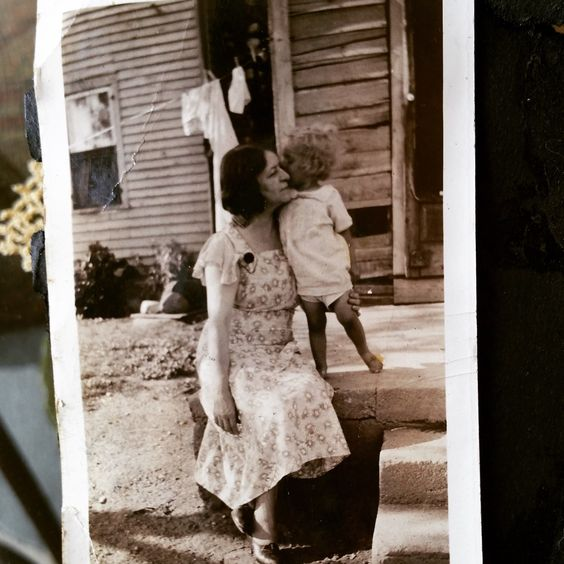 Lovely images from the past of my grandmother and guardian angel
